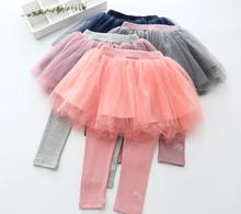 New Fall Cotton Mesh font b Skirts b font Pants Princess Baby Sweet Candy underpants 5