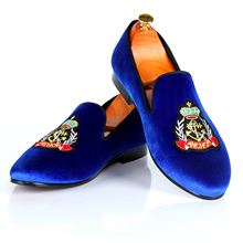 Men Custom Shoes Velvet Loafers Smoking Slippers Handmade Casual Shoes Red Bottom Fashion Footwear Free Shipping US Size 7-13