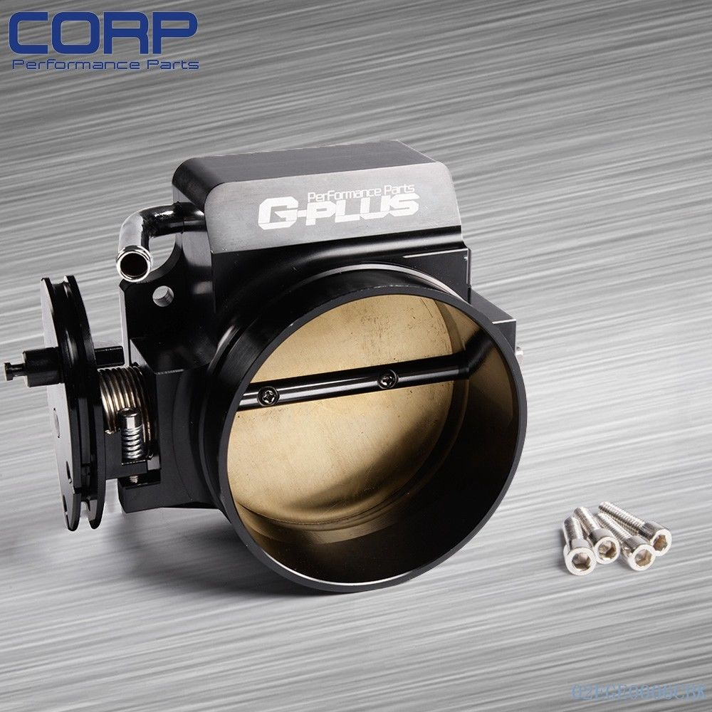102mm Throttle Body For Gen III Ls1 Ls2 Ls6 Ls3 Ls Ls7 Sx Ls 4 Cnc Bolt Cable lzone racing new throttle body for rsx dc5 civic si ep3 k20 k20a 70mm cnc intake throttle body performance jr6951