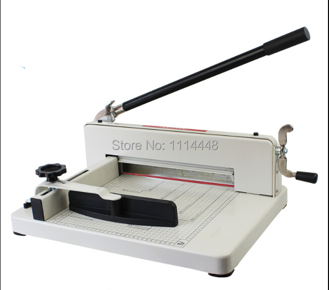 Manual A3 17 Heavy Duty Paper Cutter Cutting Machine  For Max. 400sheets visad scissors portable paper trimmer paper cutting machine manual paper cutter for a4 photo with side ruler