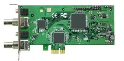 PCI Express HD Video Capture Card 1080p60 - SDI(Loop Through) кабель orient c391 pci express video 2x4pin 6pin