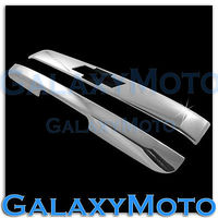 FOR 07 14 Chevy Tahoe+Suburban Chrome Top Liftgate Molding + Tailgate Handle Cover