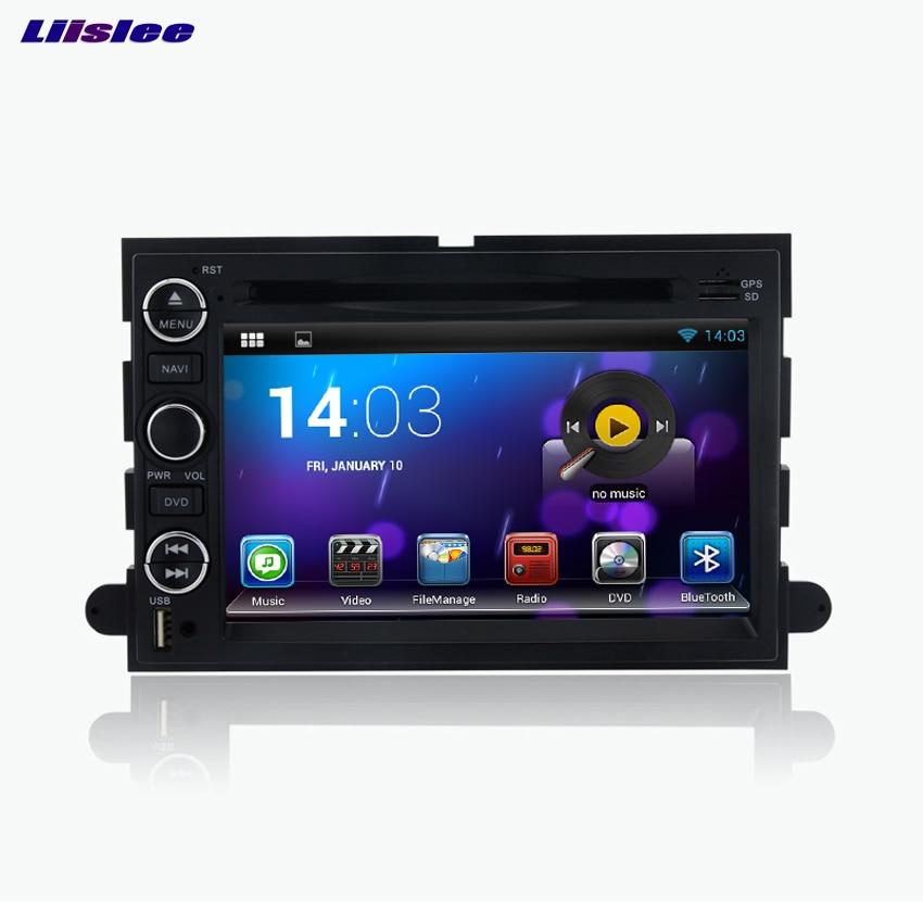 Liislee для ford серии android-автомобильный Bluetooth стерео навигации dvd-плеер мультимедиа аудио-видео Радио Multi-Сенсорный экран