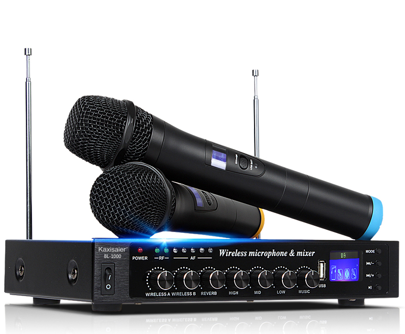 Family KTV Set singing wireless Bluetooth KARAOKA Recording microphone 220V l 598 home ktv karaoke wireless bluetooth microphone speaker