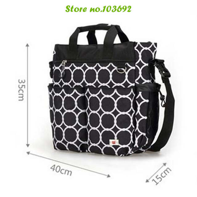 c1787439 3 PCS/SET Baby Nappy Bags Diaper Bag Mother Shoulder Bag Maternity Mummy  Handbag Baby Stroller Bag Washed by Machine-in Diaper Bags from Mother &  Kids on ...
