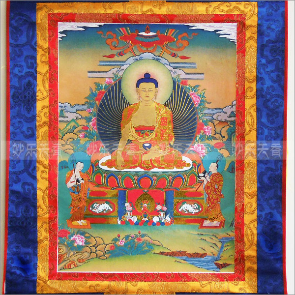 Tibetan Thangka Scroll Paintingtibetan Buddhist Thangkasthanka Decorative Paintingmultiple Can Be Selected