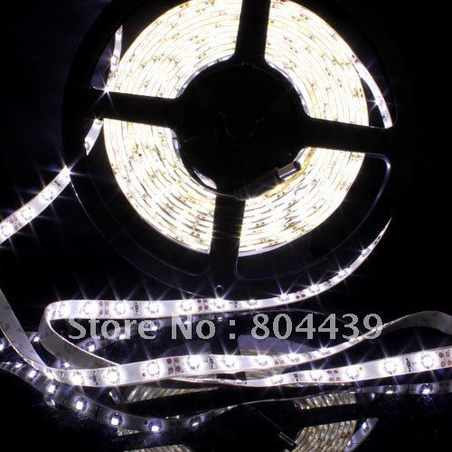 led lighting 5M WHITE SMD LED 3528 Waterproof 300 LEDs 75W Flexible led Strip led Lights Great sales! Free shipping