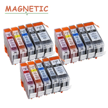15X Colorful Ink Cartridge PGI520 CLI521 for Canon Pixma MP540 MP550 MP560 MP620 MP630 MP640 MP980 MP990 MX860 MX870 IP3600 520 цена и фото