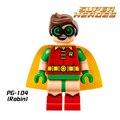 Bloques de construcción de comando suicida 2017 película de batman robin joker diy superhéroe figuras ladrillos niños diy juguetes educativos aficiones