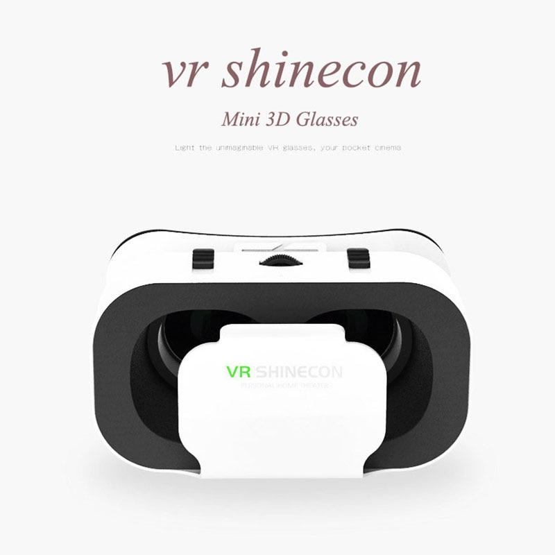 VR Shinecon 5.0 VR Box 3D Virtual Reality Glasses for 4.7-6 Smart Phone Video Cinema Glasses