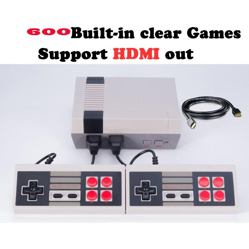 CoolBaby RS-39 sortie HDMI classique Console de jeu jeu vidéo 8 bits intégré 600 jeux différents avec doubles jeux 4 pièces DHL