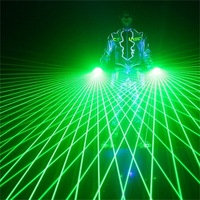 LED Laser Gloves Light Green Red Color finger lamps For DJ Club Stage dance Party Live Show decoration as Kids Birthday Toys