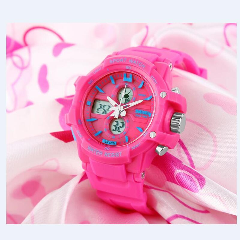 Back To Search Resultswatches Fashion Skmei Brand Children Watches Led Digital Quartz Watch Boy Girl Student Multifunctional Waterproof Wristwatches For Kids