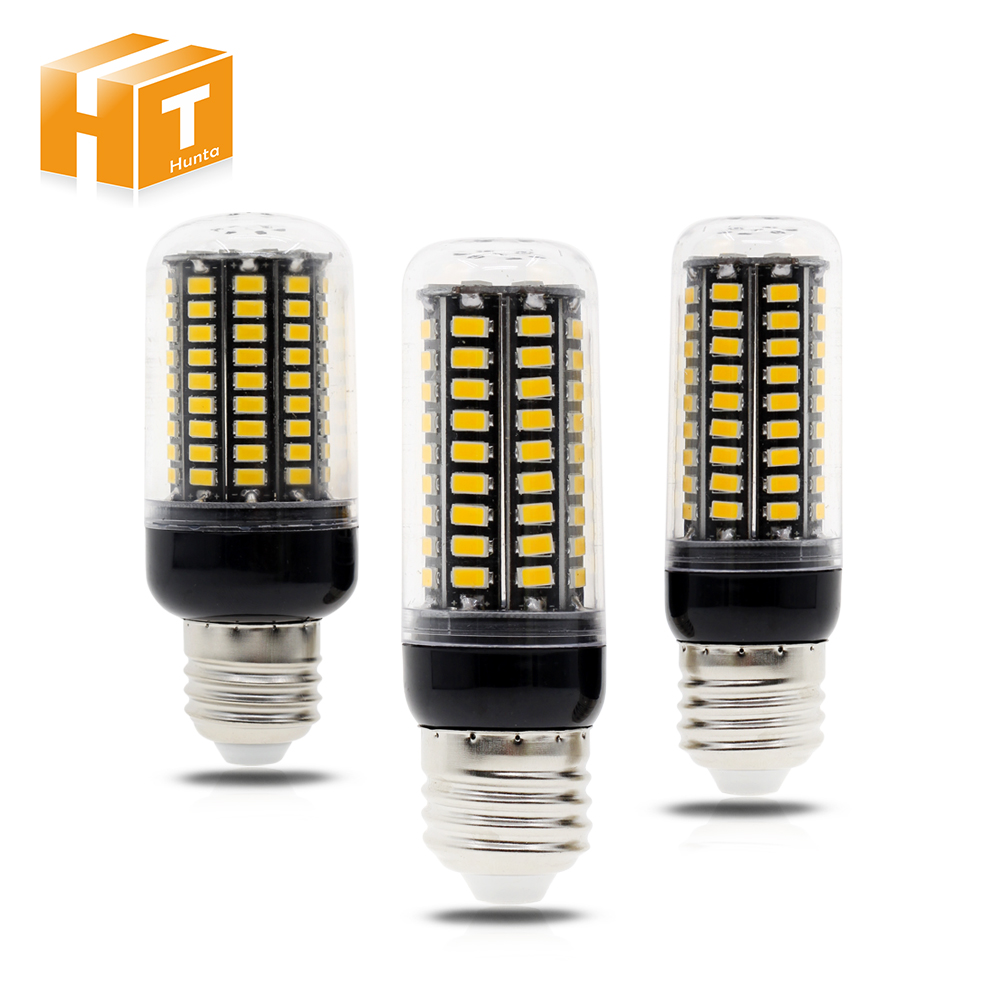 купить 2Pcs/Lot 5730 LED Corn Lamp Bulb Light 3W 5W 7W 9W 12W E27 E14 AC 85V-265V No Flicker Energy Saving Lighting LED Corn Bulb недорого