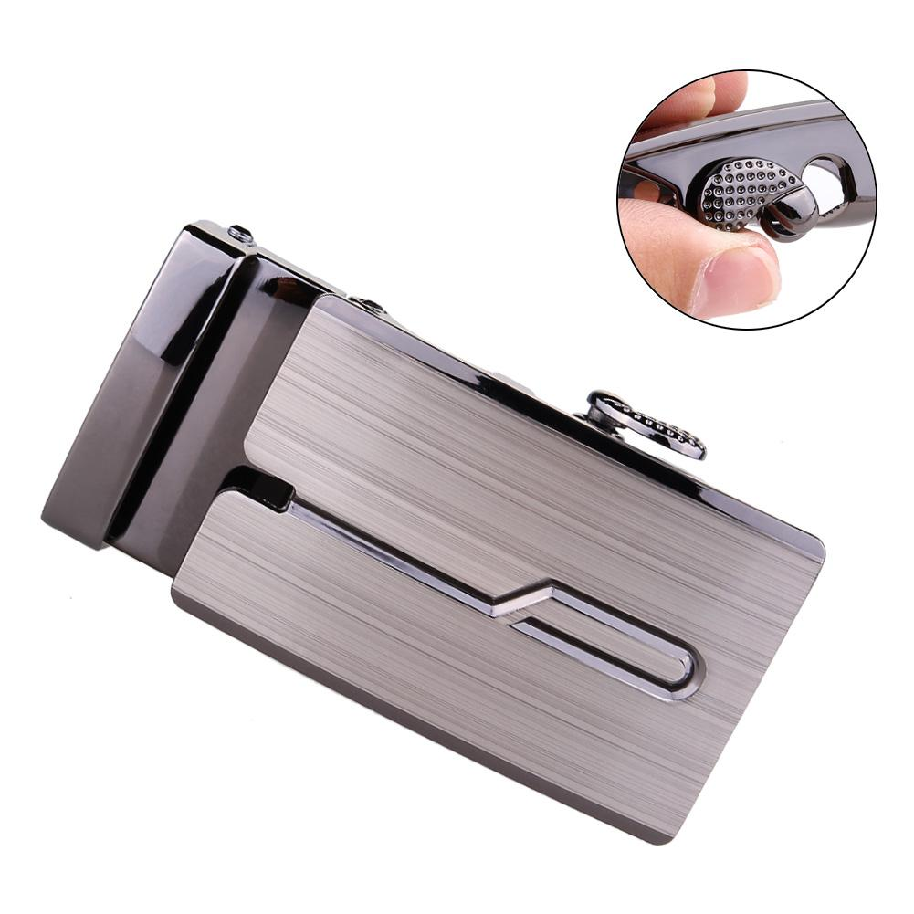 Fashion Luxury Alloy Automatic   Belt   Buckles for Men's Leather Waist   Belt   A306