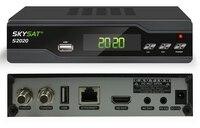 SKYSAT 남미 ACM 디지털 위성 수신기 트윈 접시 튜너 H.265 AVC MPEG-4