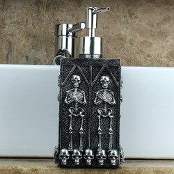 1Pc Skull Douchegel Dispenser Fles Zeepdispenser Pomp Handdesinfecterend Shampoo Lotion Fles Met Dispenser 450Ml
