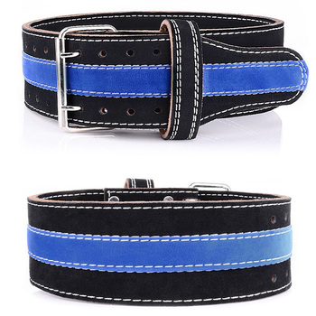 Weightlifting Belt Fitness Weight lifting Back Support Power Training Blet Equipment Cowhide Leather