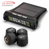 Smart Auto TPMS Reifen Druck Überwachung System Solar Power lade Digital LCD Display Auto Sicherheit Alarm Systeme
