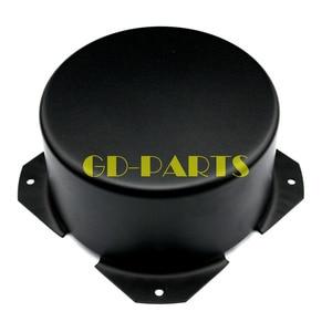Image 1 - GD PARTS 90 ミリメートルラウンド黒鉄三極トランスカバーケースボックスヴィンテージチューブアンプハイファイオーディオdiy