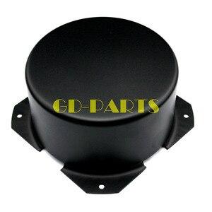 Image 1 - GD PARTS 90mm Round Black Iron Triode Transformer Enclosure Cover Case Box For Vintage Tube Amplifier Hifi Audio DIY