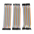 120Pcs 20cm 2.54mm 1pin Dupont Line Male to Male + Male to Female + Female to Female Jumper Wire DuPont Cable for Arduino OD#S