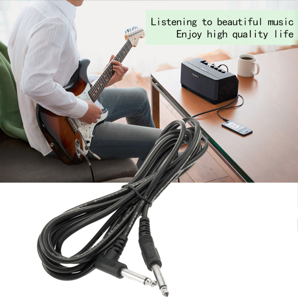 ᗖ10ft 3m Electric Patch Guitar Amplifier Amp Instrument Cable Cord