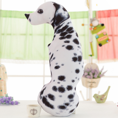 creative 3D Dimensional Dalmatian dog plush toy spotted dog soft pillow about 90cm 0065 creative simulation plush soft fox naruto toy polyethylene