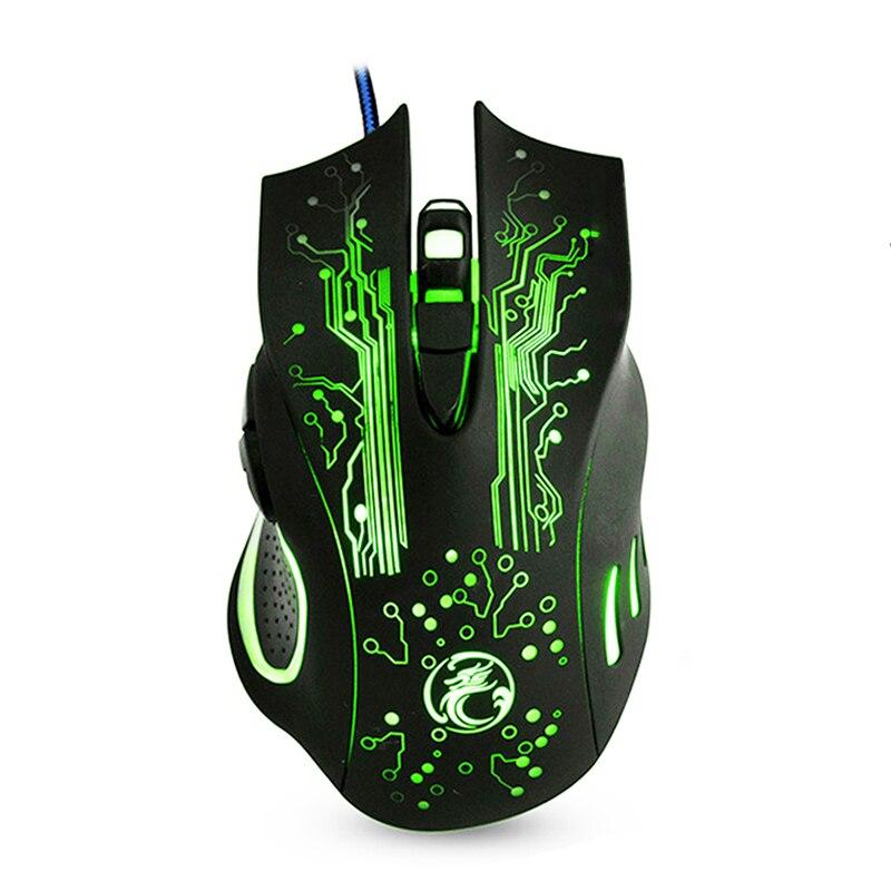 Wired Gaming Maus Hintergrundbeleuchtung Spiel Maus USB Computer Maus 6 Tasten PC Spiel Mäuse 5000 dpi Gamer Mause Für Laptop DOTA 2 LOL