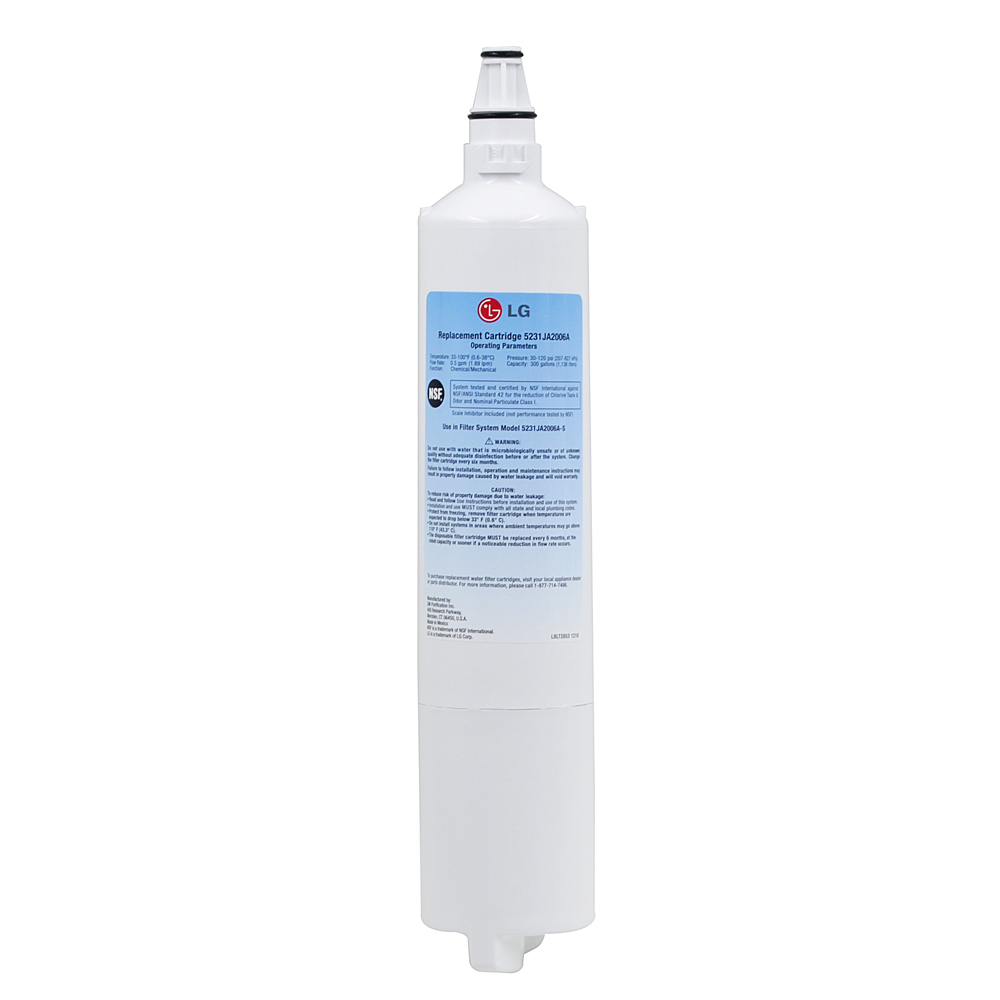 High Quality Household Water Purifier Refrigerator Water Filter Replacement for LG LT600P, 5231JA2005A, 5231JA2006 3 Pcs/lot