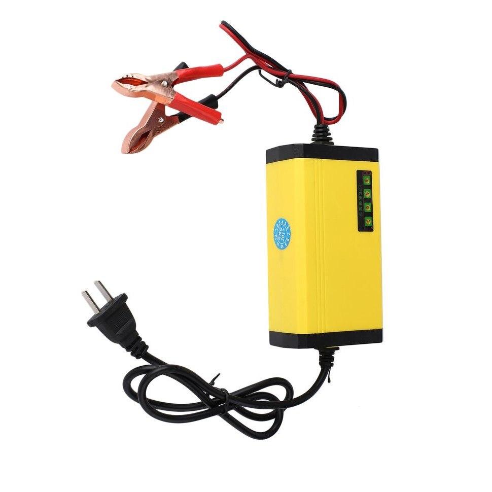 8 pièces Mini Portable 12 V 2A voiture moteur intelligent chargeur de batterie adaptateur LED alimentation