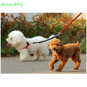 (30 Pieces/Lot) New Arrival 3 Sizes Double Nylon Dog Pet Leashes Lead for 2 dogs