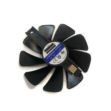 RX 580/570 GPU радиатор Шестерни светодиодный вентилятор для сапфир деталь нитро-двигателя Himoto Redcat RX580 RX570 видео системы охлаждения в качестве замены