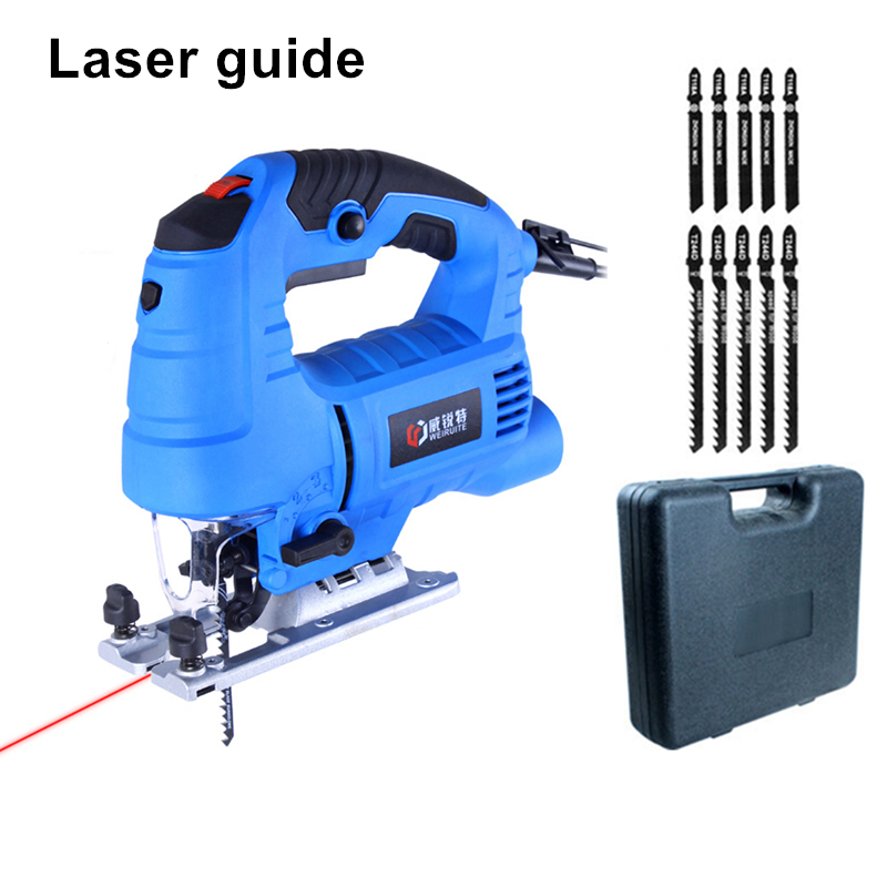 laser guide electric curve saw plus 10pcs blade household electric woodworking saw multi-function dust-free sawing machine cukyi household electric multi function cooker 220v stainless steel colorful stew cook steam machine 5 in 1