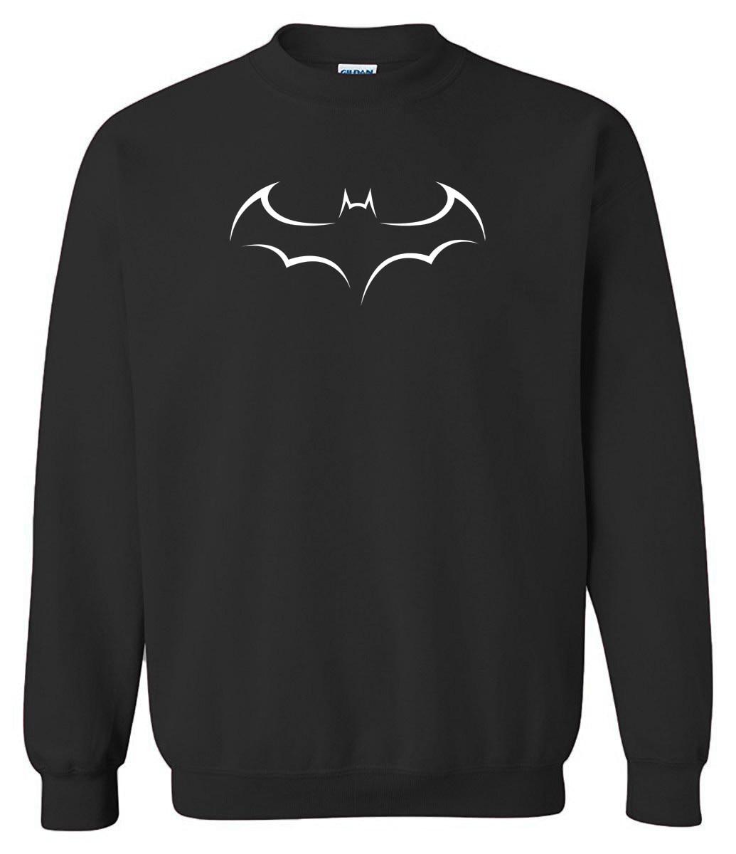 2019 Men's Sweatshirts Spring Winter BAT Printed Fashion Fleece Casual Hoodies For Men Harajuku Brand Clothing Hoody Sportswear