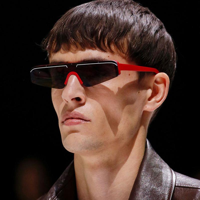 c0b16ec8b2b79 HBK Pequeno Retângulo Óculos de Sol Das Mulheres Dos Homens 2019 Marca de  Moda Sombra Fresca Feminino Oculos Oculos de Marca Revestimento Óculos de  Sol para ...