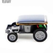 TELOTUNY солнечный автомобиль Маленькая солнечная энергия мини игрушка автомобиль гонщик обучающая Солнечная энергия ed Игрушка развивающая игрушка Горячая Распродажа Новинка Jan16