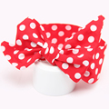 Fashion Dot Hairband Colorful Floral Baby Hairband Hot Turban Knot Headband NewBaby Hair Accesories Baby Clothing Free Shipping