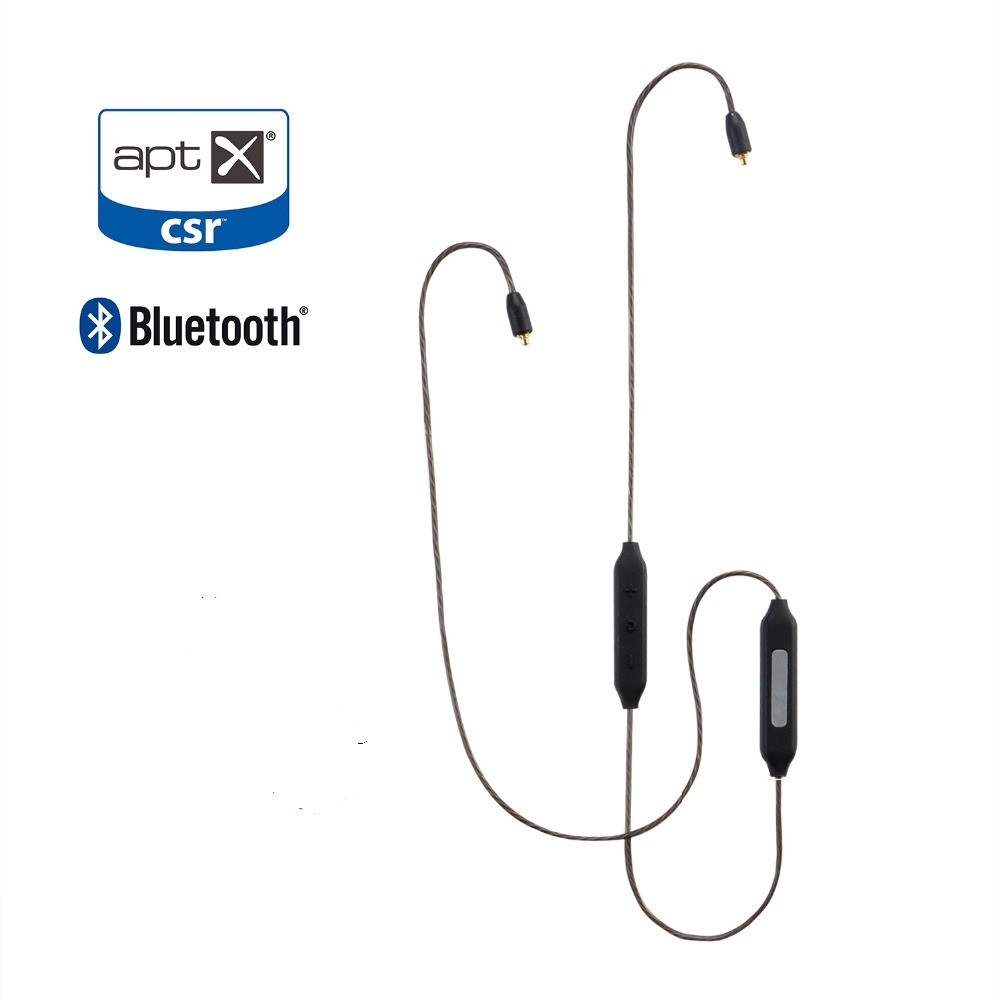 HIFI MMCX Adapter Balanced Cable Bluetooth 4.1 Earphone Connector Silver Plated Apt-X for Shure SE215 SE535 SE846 LZ A4 A5 apt x mmcx bluetooth wireless cable hifi earphone aptx audio cable for shure se215 se535 se846 se425 se315 ue900 android ios