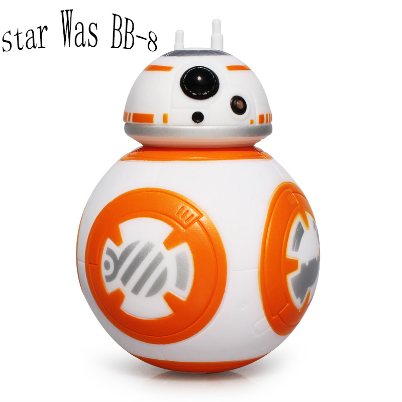 Buy bb 8 star wars the force awakens bb8 bb 8 droid robot roly poly toy action - Robot blanc star wars ...