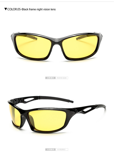 Night Day Vision Glasses Protection Bright Light