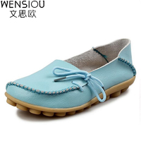 2016 Hot Sale Women Flat Shoes Casual Ladies Shoes Fashion Solid Soft Loafers Summer Casual Women