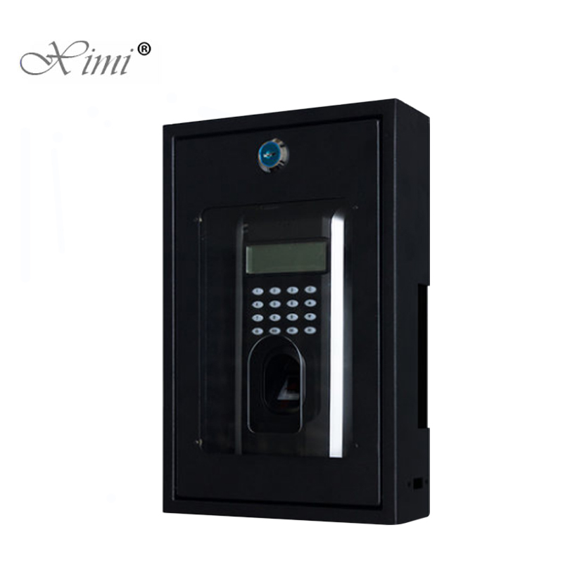 Fingerprint Access Control F7/F18 Protect Box Good Quality Metal Protect Cover Safety Housing Protective Cover BoxFingerprint Access Control F7/F18 Protect Box Good Quality Metal Protect Cover Safety Housing Protective Cover Box