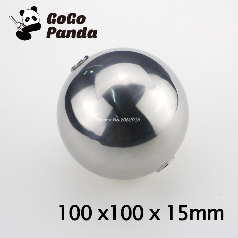 1pc 100*100*15mm Magnetic Stainless Steel Float Ball for Water Level Float Switch big Ball