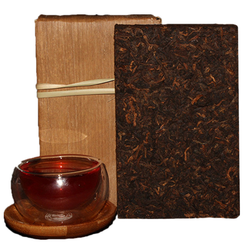 Tea More Than 40 Years Old PU ER Puerh Pu er Tea Pu erh Pu'er Puer Made in 1972 year Tea Brick Lose Weight Tea(China (Mainland))
