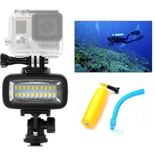 Orsda Diving LED Video Light LED Lighting Lamp High Power 700LM with Diffuser for GoPro SJCAM Sports Action Camera OR006