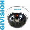 Wireless Fake Camera Dummy Security Camera Surveillance fake dome security red blinking LED camaras de seguridad