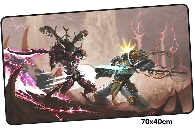 warhammer 40k mousepad gamer 700x400X3MM gaming mouse pad Domineering notebook pc accessories laptop padmouse ergonomic mat