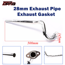 TDPRO 28mm Motorcycle Exhaust Muffler Pipe Gasket For Honda CRF50 Apollo 70cc 110cc 125cc Thumpstar Baja Atomik SSR SDG Pit Bike цены