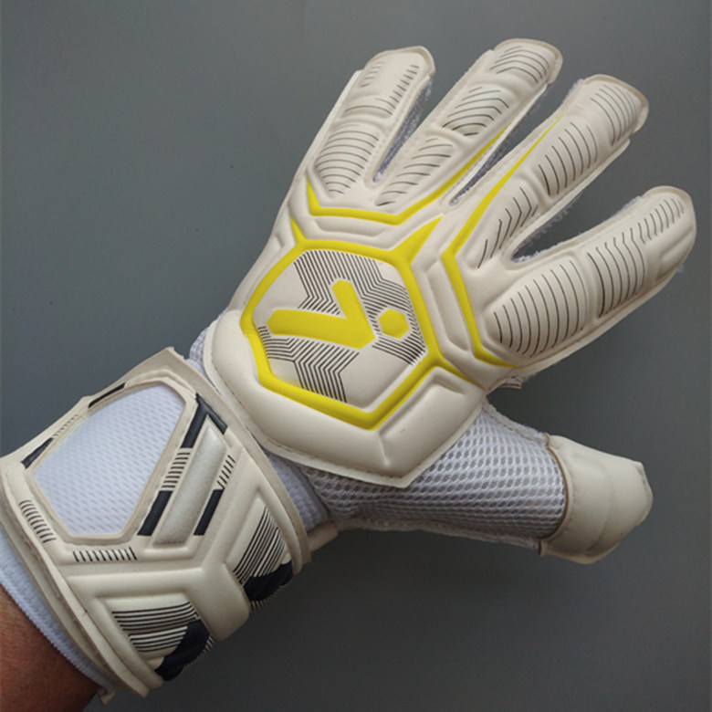 Professional goalkeeper gloves with Finger Protection rods soccer Thickened Latex football Goalie Gloves wholesale dropshiping